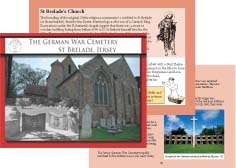 The German War Cemetery, Sample Pages