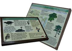 Two Interpretation Boards